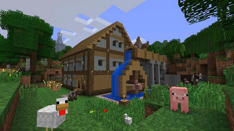 minecraft casa dei sogni