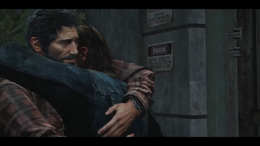 The last of Us – abbraccio Joel e Tommy
