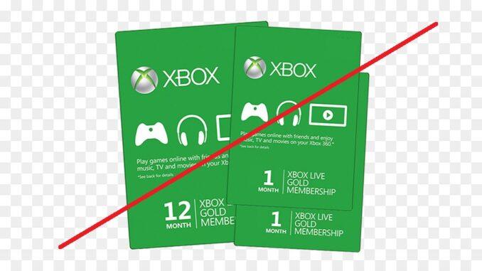 Xbox Live Gold Chiusura servizio