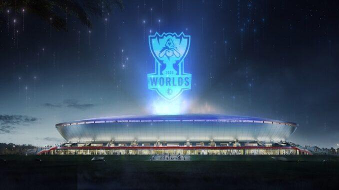 lol esport Campionato Mondiale 2020
