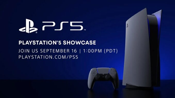 PlayStation 5 Showcase 16 settembre 2020