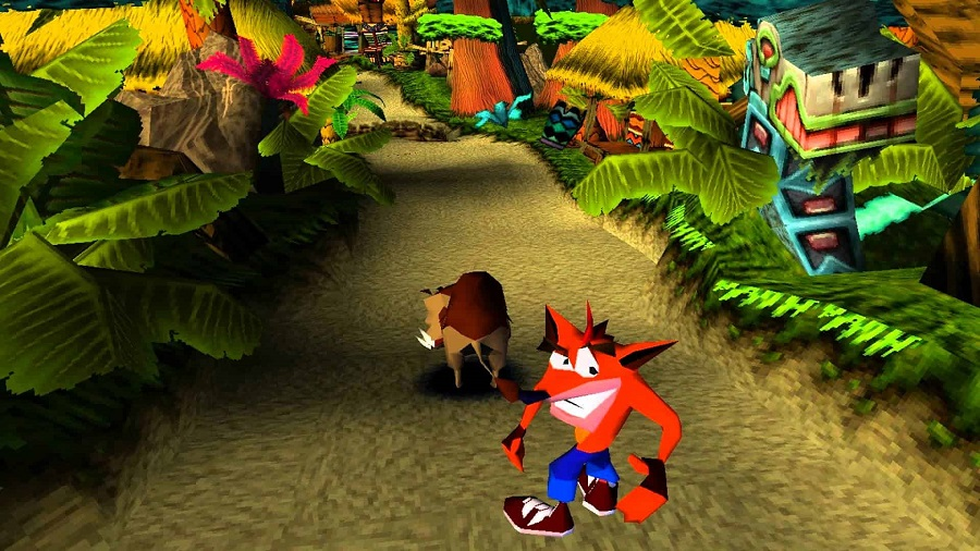 Crash Bandicoot - Naughty Dog