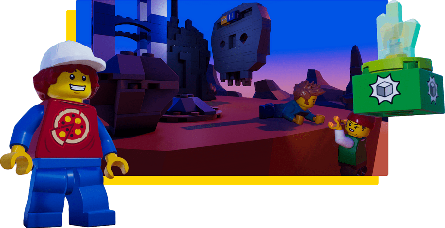 LEGO Microgame personalize-your-game