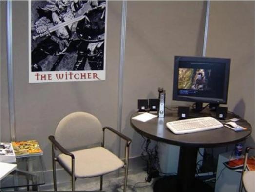 Stand CD Progekt RED all'E3 del 2004