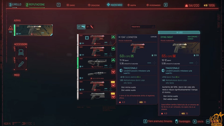 CP guida armi