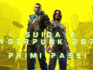 Cyberpunk2077 - Guida Primi Passi