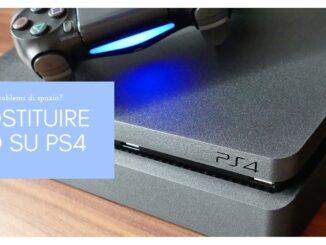 SOSTITUIRE HD su PS4