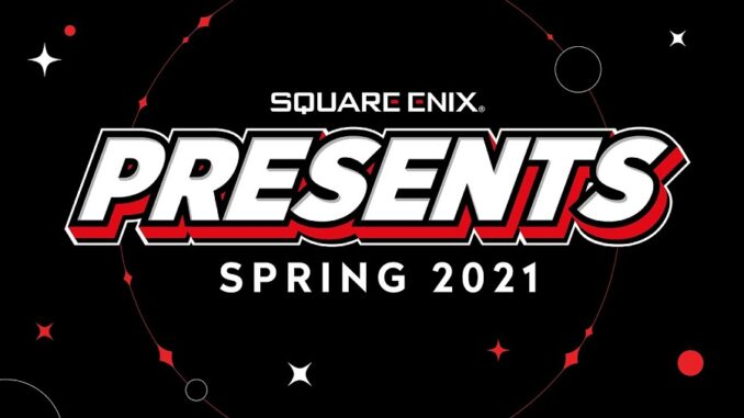 Square Enix - primavera 2021