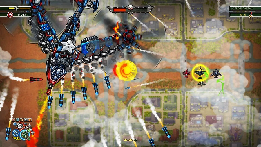 Aces of the Luftwaffe Squadron - Screen 2