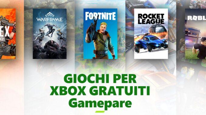 Multiplayer online gratis per tutti su Xbox