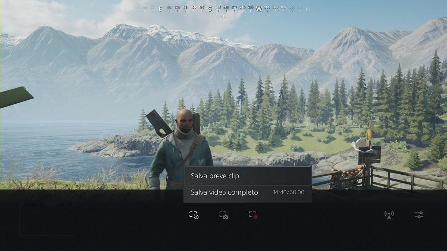 SALVARE IL VIDEO DI GIOCO -PS5 Salva breve clip