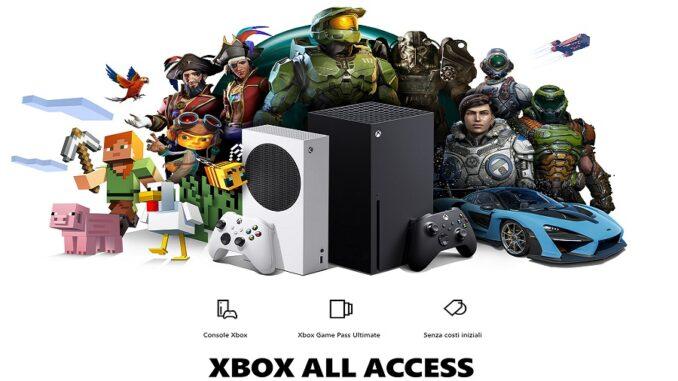 Xbox All Access arriva in Italia