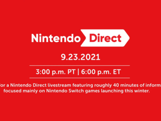 Nintendo Direct 9.23.2021