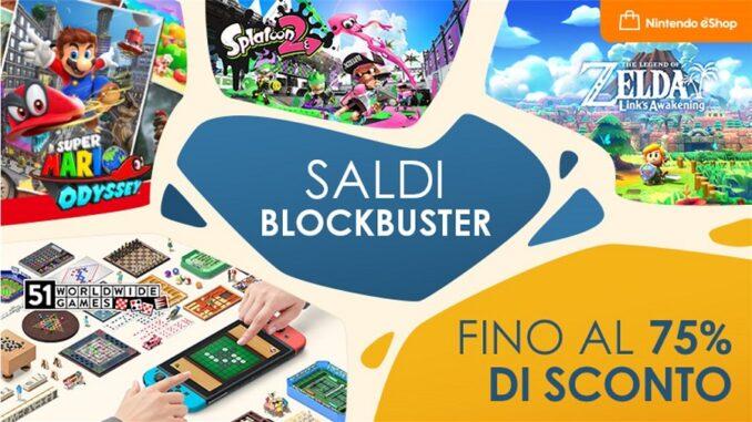 Nintendo eShop Saldi Blockbuster